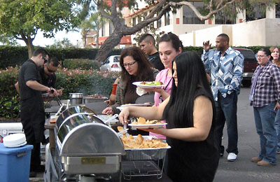 California Mexican taco catering makes your party a fiesta.